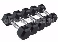 Dumbell Hexa Rubber