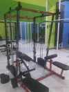 Smith machine+katrol+rowing